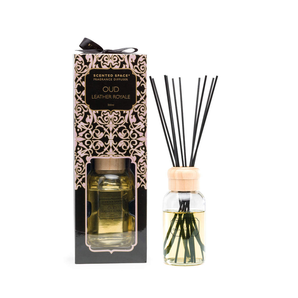 Oud Leather Royale 200ml Diffuser - Apsley Australia