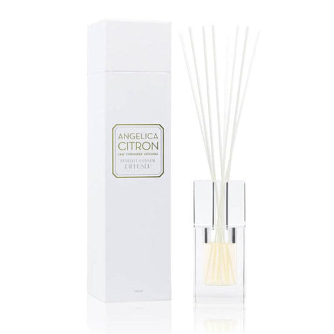 Image of Angelica Citron 140ml Bevelled Crystal Diffuser