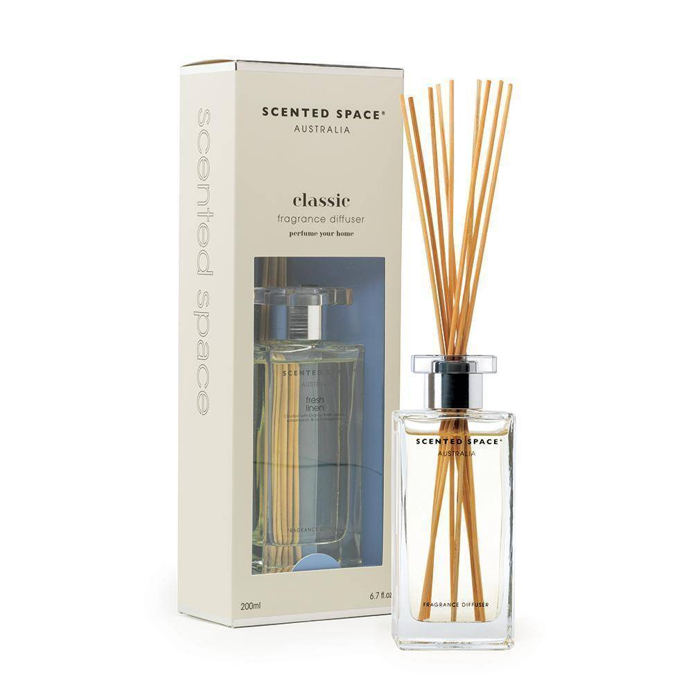 Fresh Linen 200ml Reed Diffuser