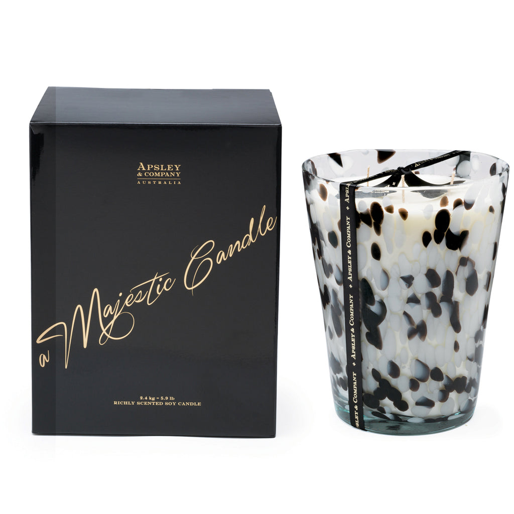 Santorini 2.4kg Luxury Decorator Candle - Apsley Australia