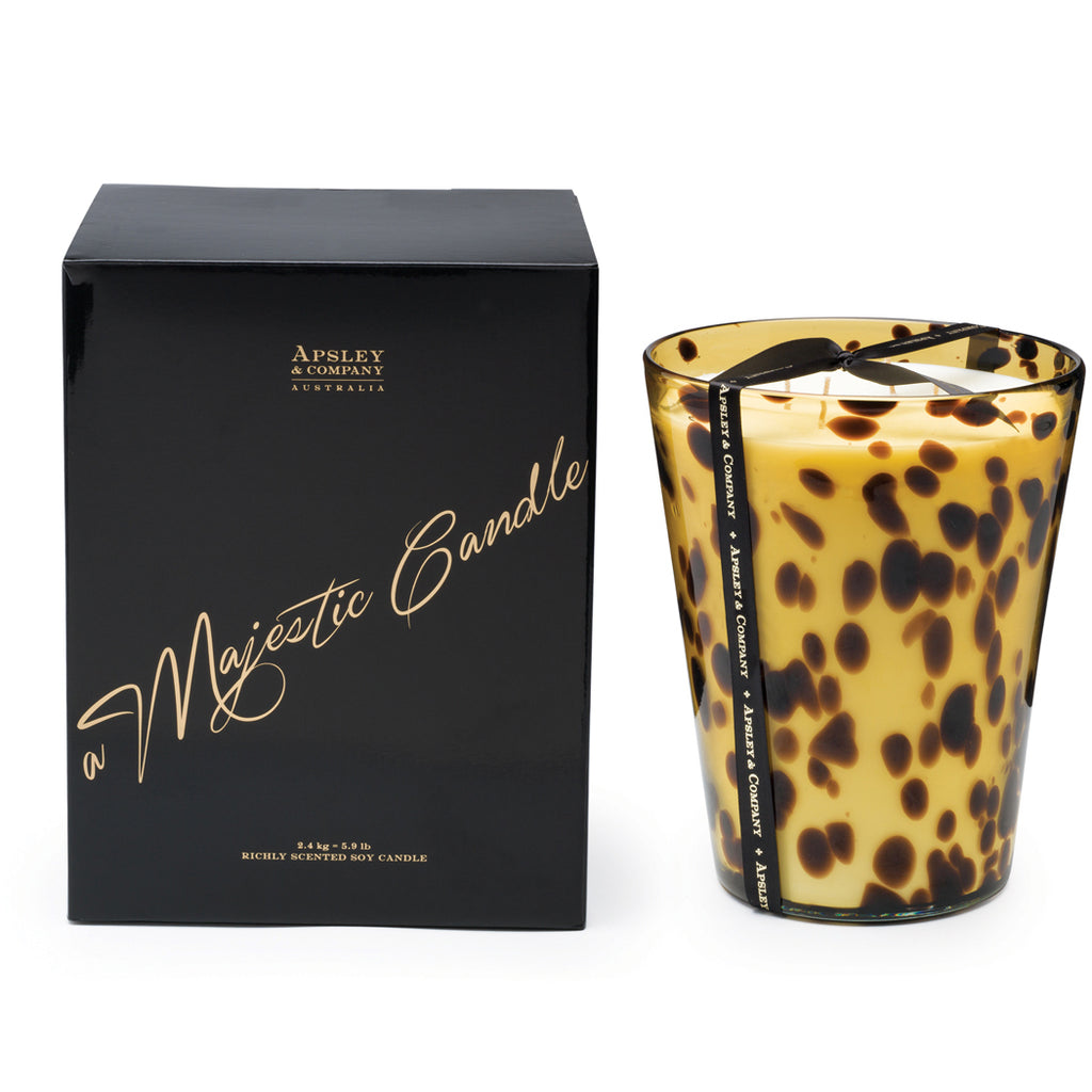 Vesuvius 2.4kg Luxury Decorator Candle - Apsley Australia