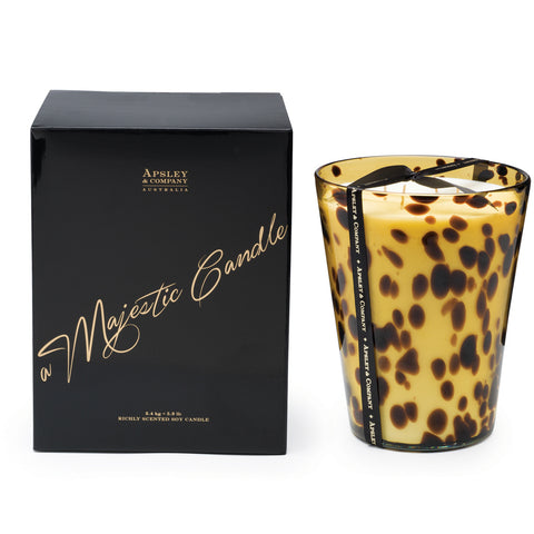 Image of Vesuvius 2.4kg Luxury Decorator Candle - Apsley Australia