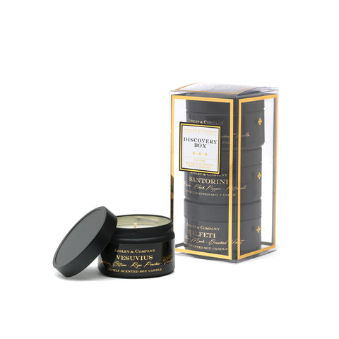Image of Luxury Candle Discovery Set B - Apsley Australia