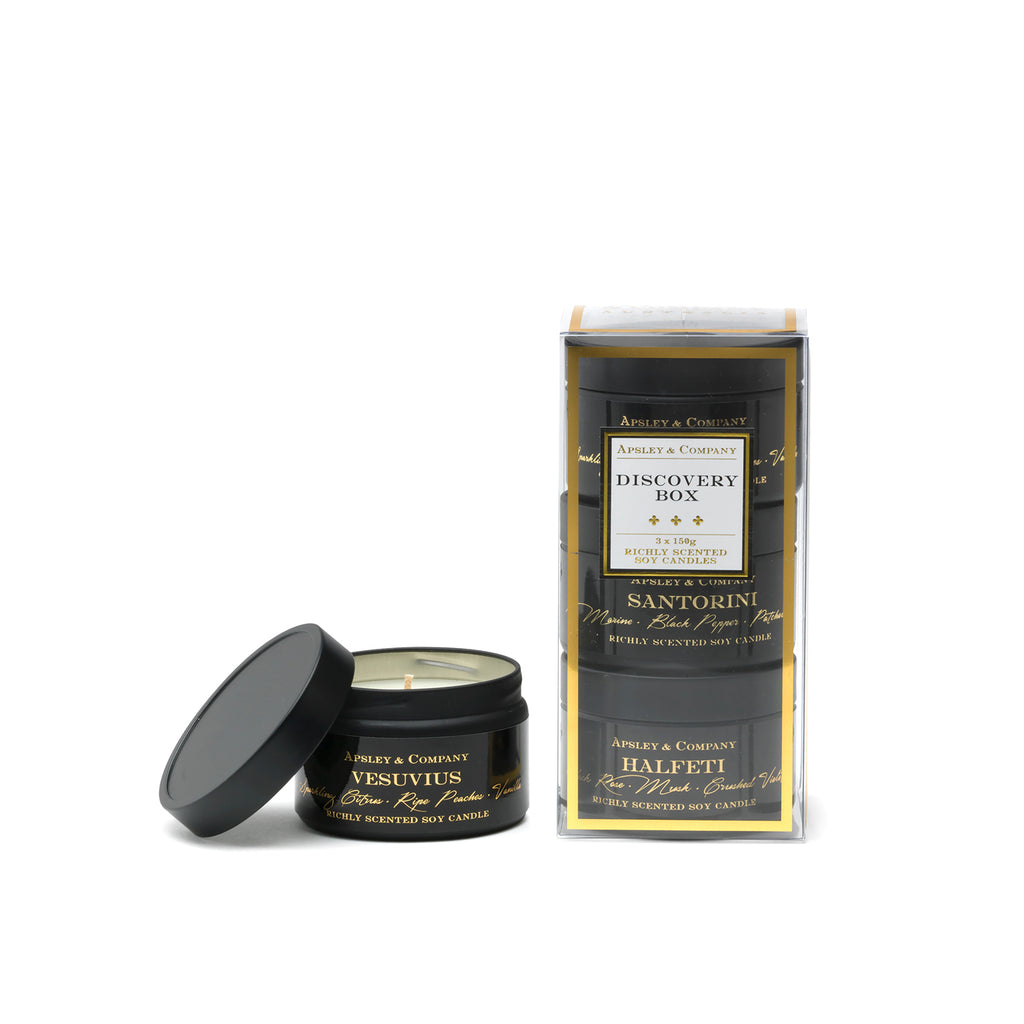 Luxury Candle Discovery Set B - Apsley Australia