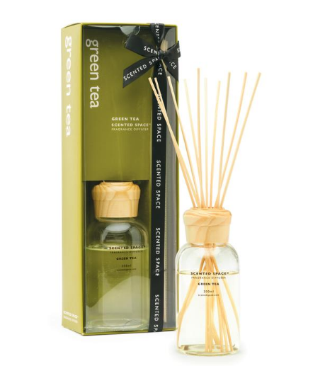 Scented Space Green Tea 200ml Diffuser - Apsley Australia