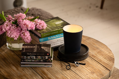Image of Coastline 900g Leather Candle