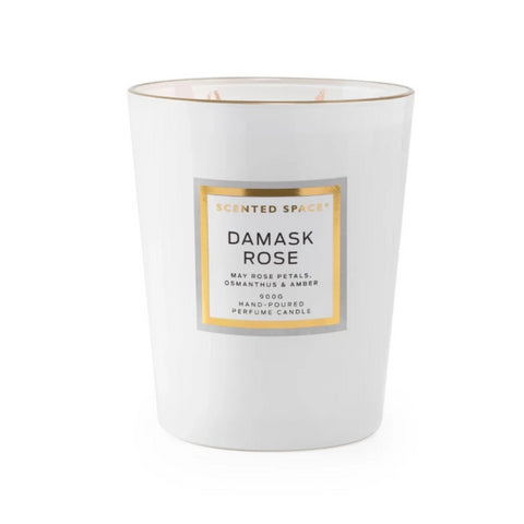 Damask Rose 900g Scented Soy Candle - Apsley Australia