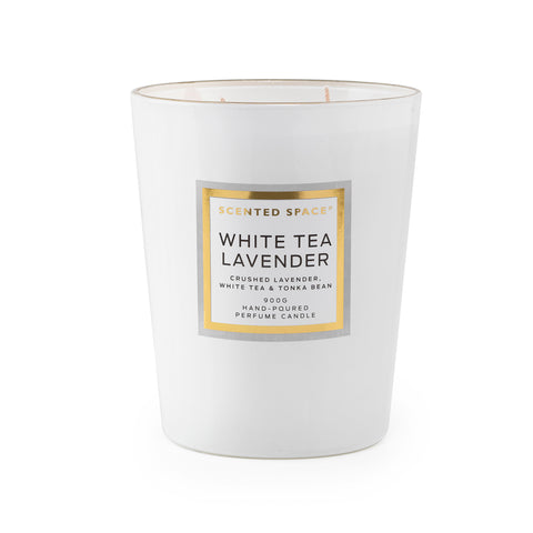 Image of White Tea Lavender 900g Scented Soy Candle - Apsley Australia