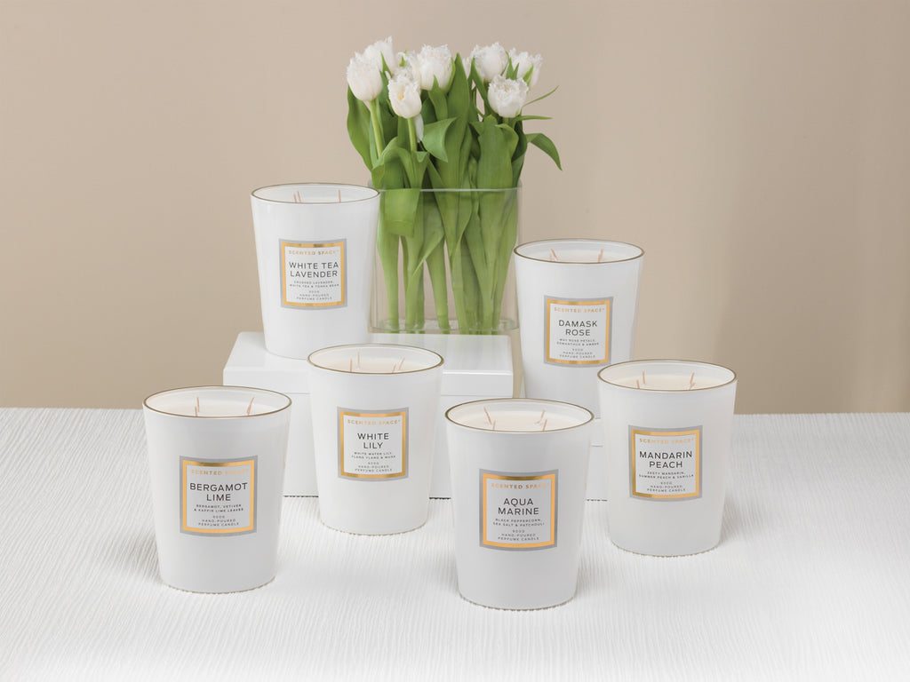 White Lily 900g Scented Soy Candle - Apsley Australia