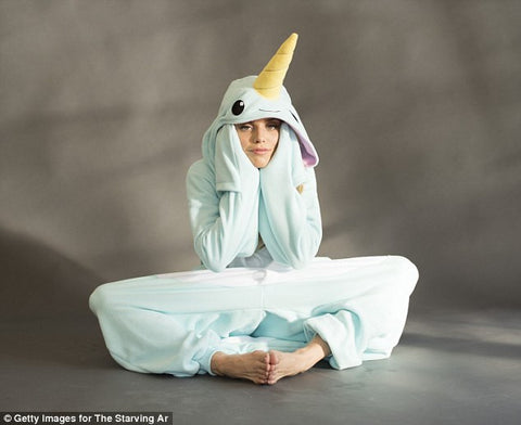 90210's AnnaLynne McCord Rocks the Narwhal Onesie