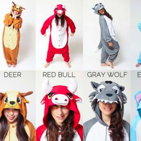 NEW STYLES: Deer, Red Bull, Gray Wolf & Elephant