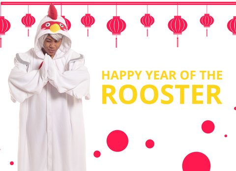 Celebrate Chinese New Year With Our New Rooster Kigurumi