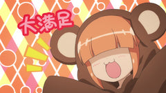 Mayoi's Great Winter Kigurumi Peek-a-boo