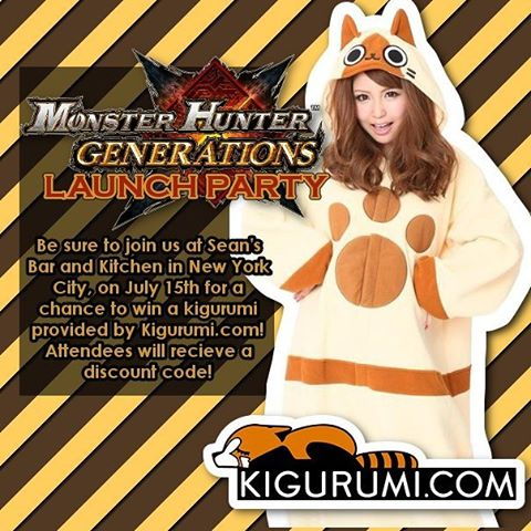 MonsterHunterNYC launch party!
