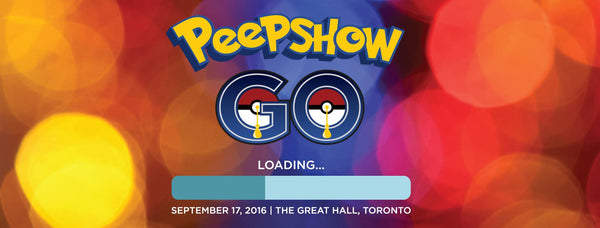 Peepshow GO: a Pokemon GO inspired burlesque evening