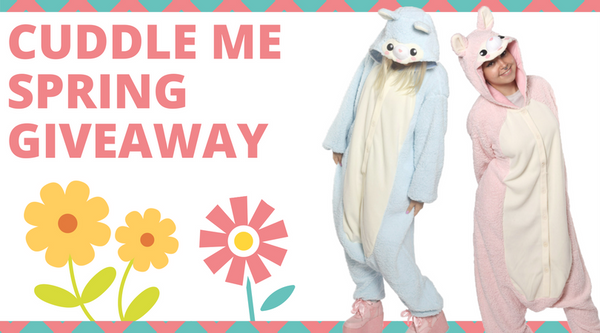 Cuddle Me Spring Giveaway
