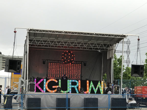 Kigurumi Sign at the Otakubaloo Stage - Anime North 2017