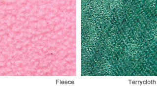 Kigurumi Fabrics and Materials