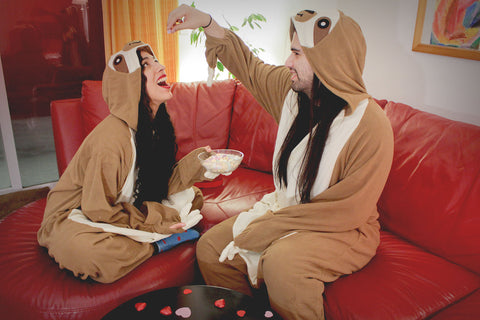 Sloth Regular X-Tall Kigurumi Valentine's Day