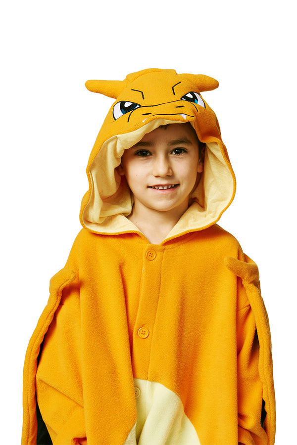 Kids Charizard Pokémon Kigurumi Ages 5-9