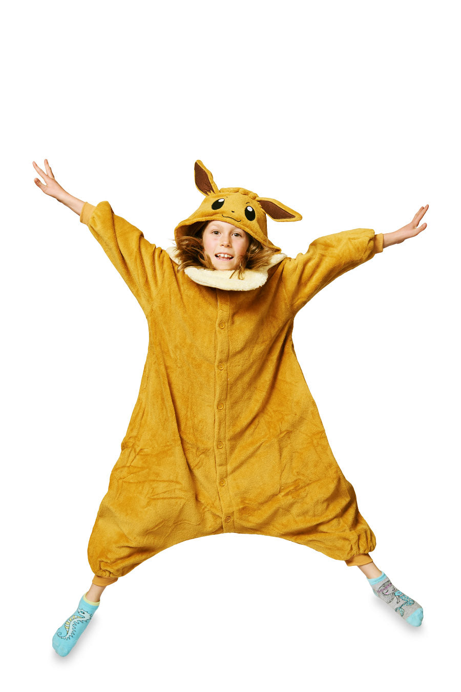 Kids Eevee Pokémon Kigurumi Ages 5-9