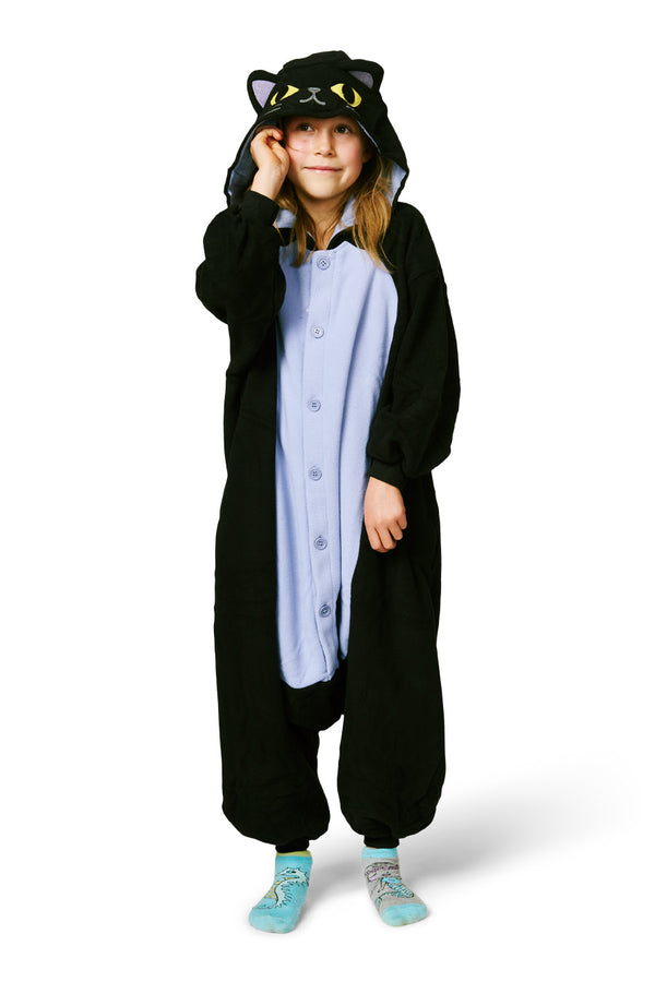 Kids Midnight Cat Kigurumi Ages 5-9