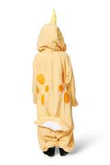 Kids Peach Narwhal Kigurumi Ages 5-9