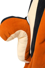 Chipmunk Animal Kigurumi Adult Onesie Costume Pajamas Detail Tail