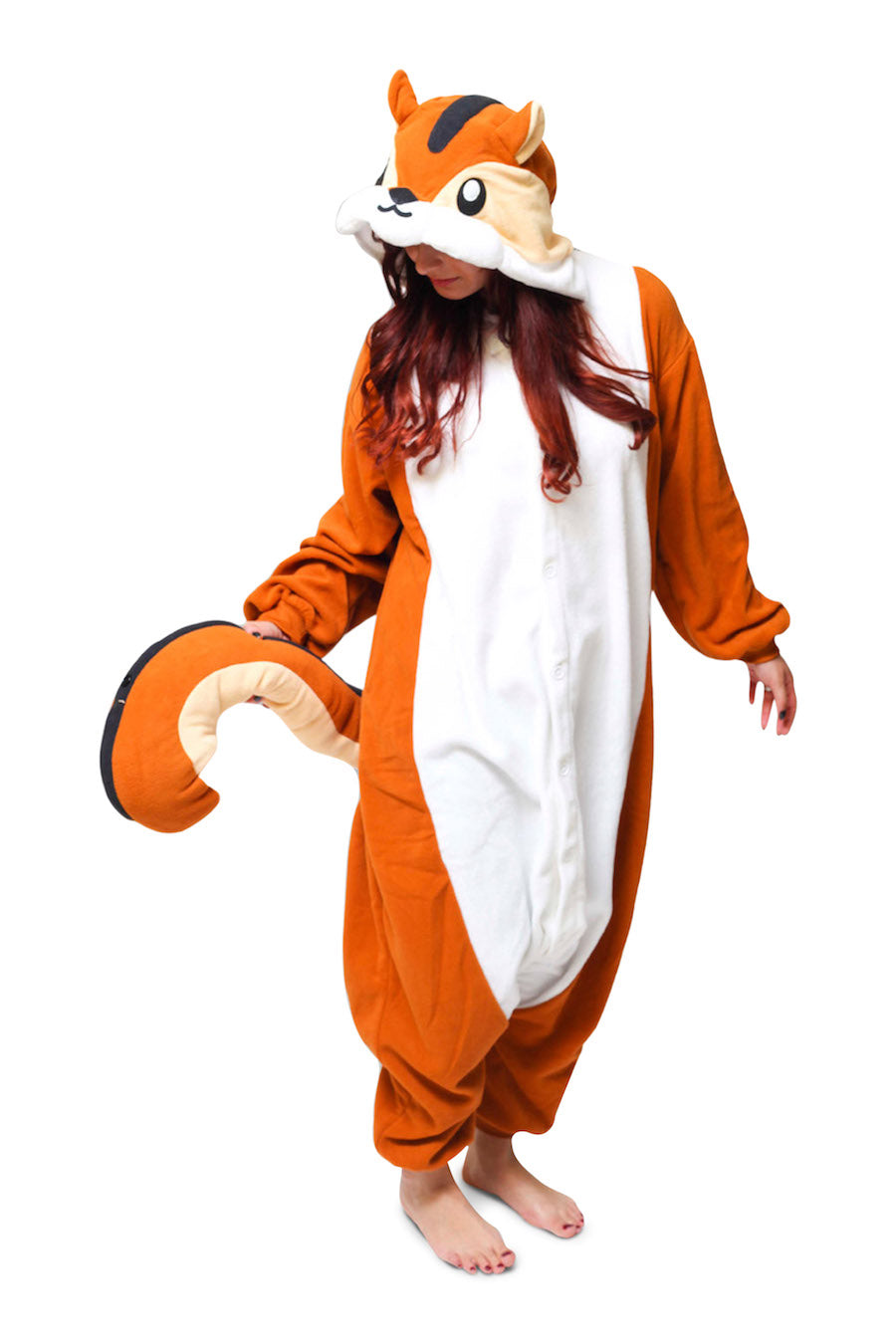 Chipmunk Animal Kigurumi Adult Onesie Costume Pajamas Main