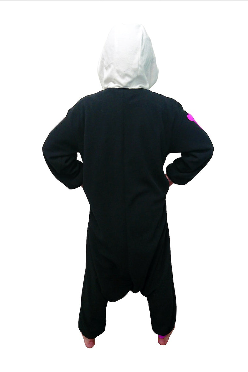 Colorful Skull Animal Kigurumi Adult Onesie Costume Pajamas Back
