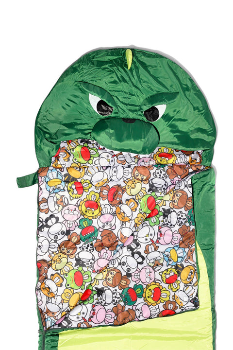 Dinosaur Sleeping Bag Kigurumi Camping One Size Adult