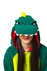 Dinosaur Animal Kigurumi Adult Onesie Costume Pajamas Hood