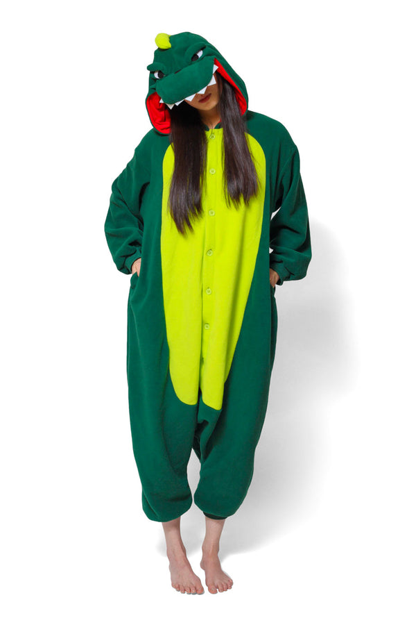 Dinosaur Animal Kigurumi Adult Onesie Costume Pajamas Main