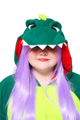 Dinosaur X-Tall Animal Kigurumi Adult Onesie Costume Pajamas Hood