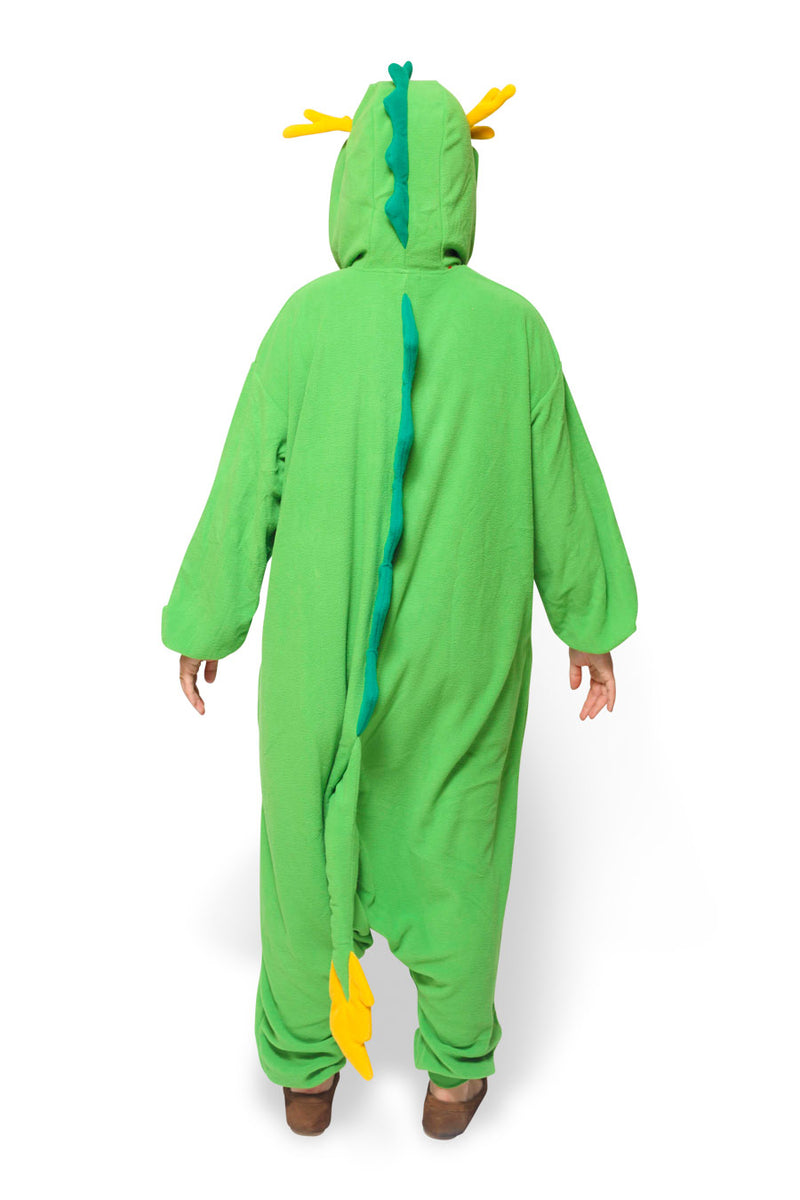 Dragon Animal Kigurumi Adult Onesie Costume Pajamas Back