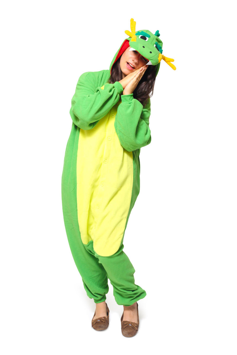 Dragon Animal Kigurumi Adult Onesie Costume Pajamas Secondary
