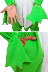 Frog Animal Kigurumi Adult Onesie Costume Pajamas Green Details