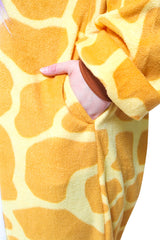 Giraffe Animal Kigurumi Adult Onesie Costume Pajamas Pocket