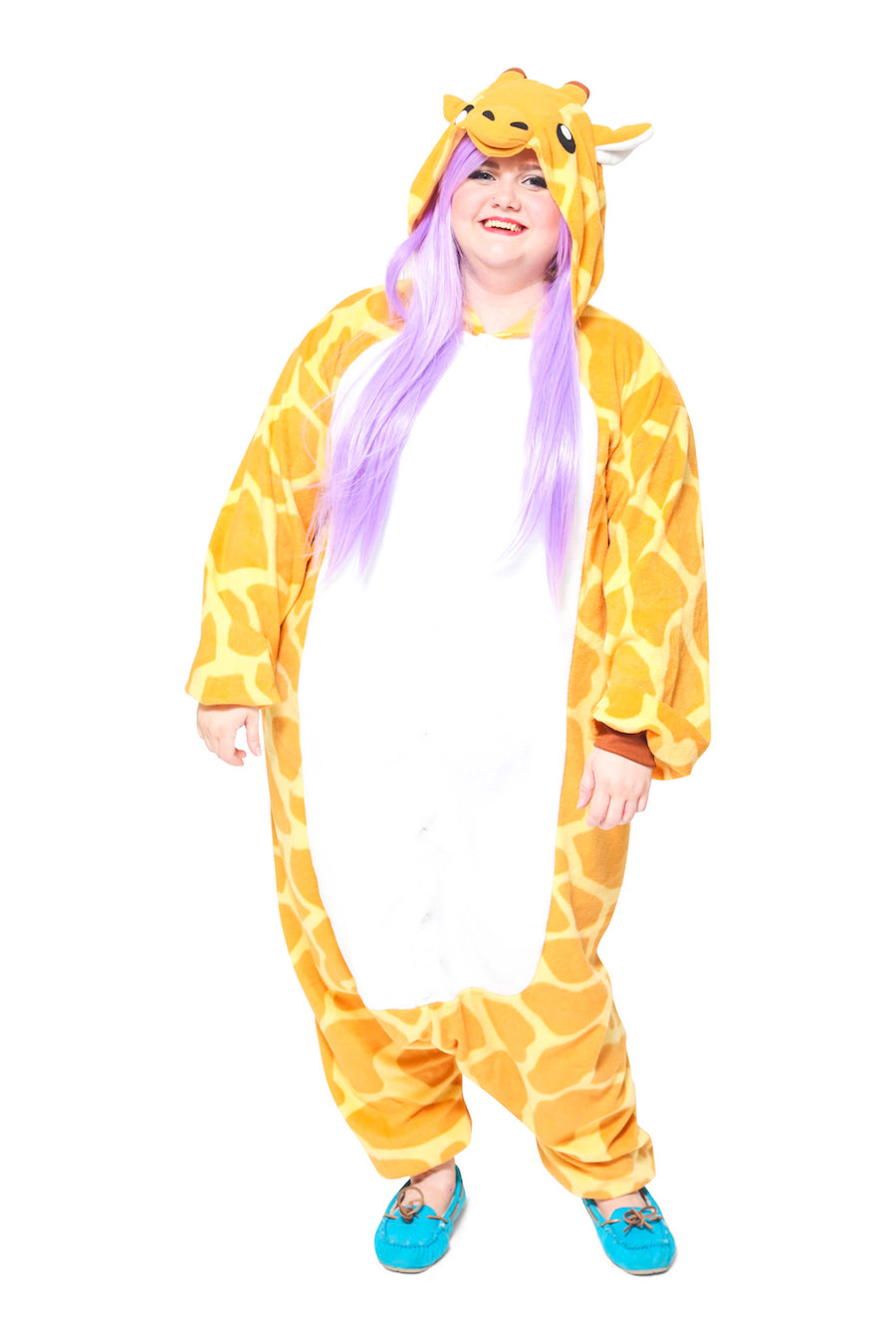 Giraffe X-Tall Animal Kigurumi Adult Onesie Costume Pajamas Main
