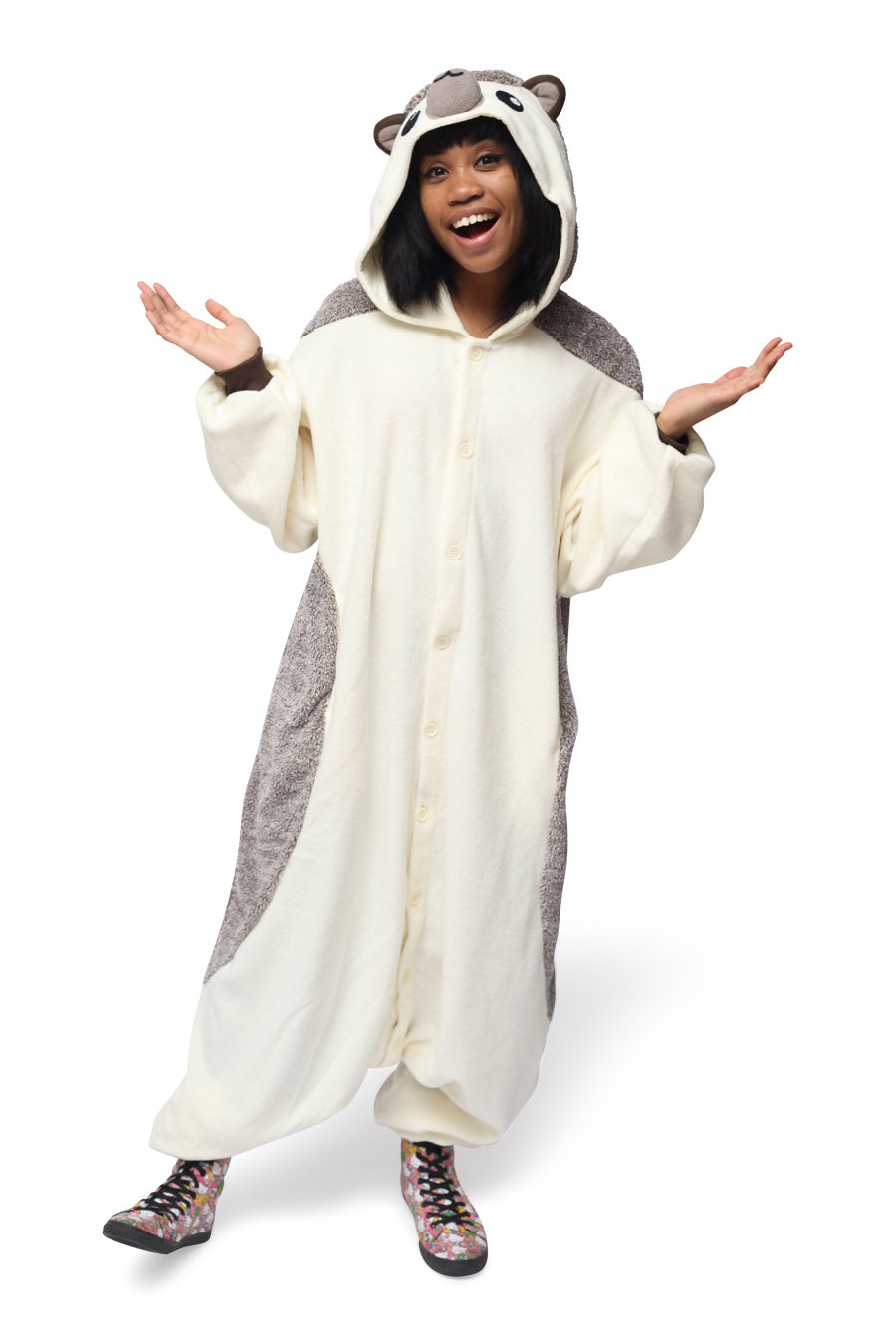 Hedgehog Animal Kigurumi Adult Onesie Costume Pajamas Main
