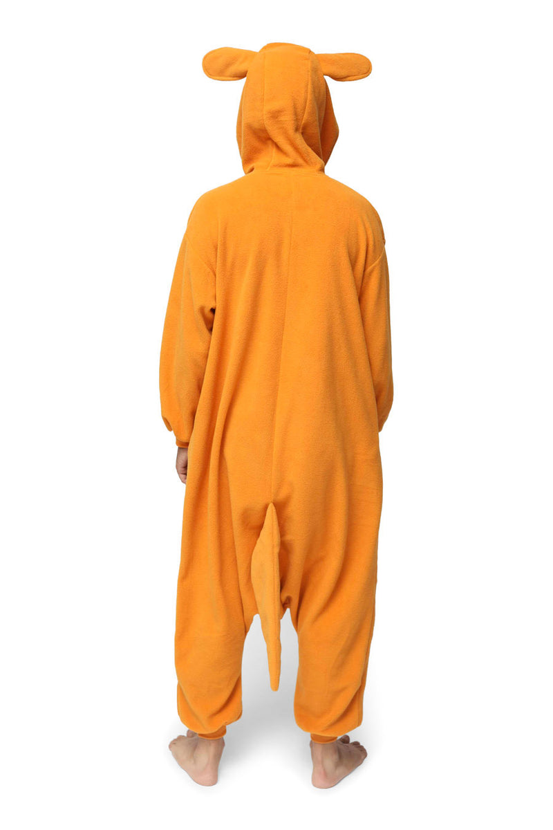 Kangaroo Animal Kigurumi Adult Onesie Costume Pajamas Back
