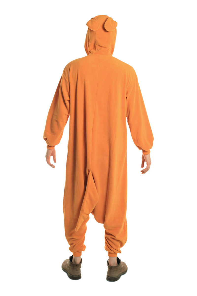 Kangaroo X-Tall Animal Kigurumi Adult Onesie Costume Pajamas Back
