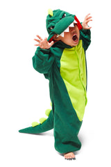 Kids Dinosaur Animal Kigurumi Onesie Costume Pajamas Main 110cm