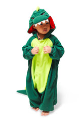 Kids Dinosaur Animal Kigurumi Onesie Costume Pajamas Tertiary 110cm