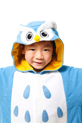 Kids Owl Animal Kigurumi Onesie Costume Pajamas Hood 110cm