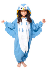 Kids Owl Animal Kigurumi Onesie Costume Pajamas Main 130cm