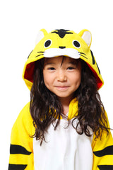 Kids Tiger Animal Kigurumi Onesie Costume Pajamas Hood 130cm