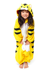 Kids Tiger Animal Kigurumi Onesie Costume Pajamas Secondary 130cm