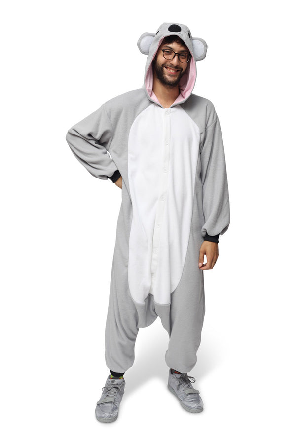 Koala Animal Kigurumi Adult Onesie Costume Pajamas Main