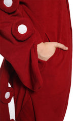 Octopus Animal Kigurumi Adult Onesie Costume Pajamas Pocket